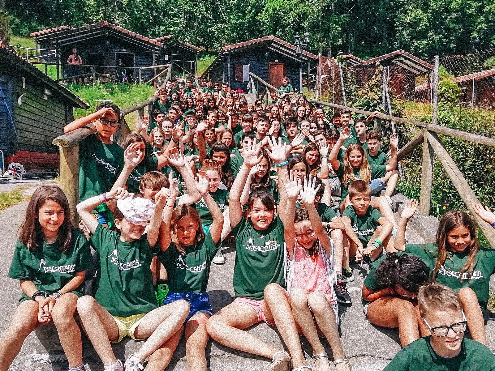 campamento deporcantabria ingles niños picos de europa