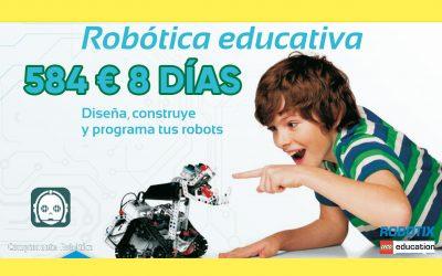 Robotica educativa con Deporcantabria Robotix