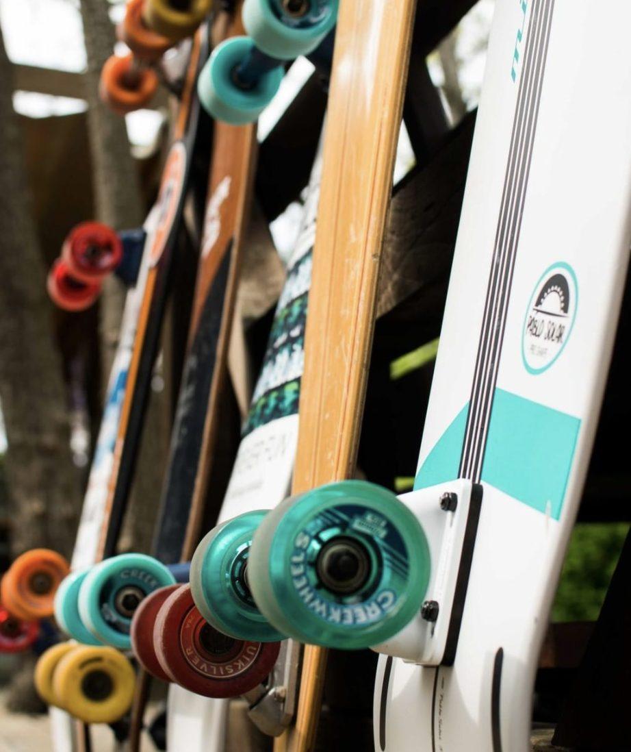 boards skates surf camp
